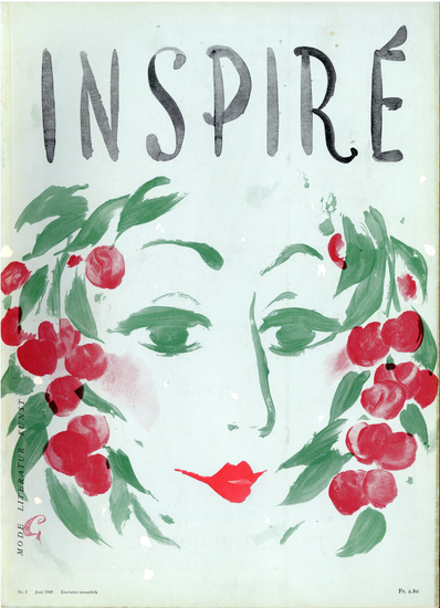 "N°3 cover- Otto Glaser- Magazine ""Inspiré"""